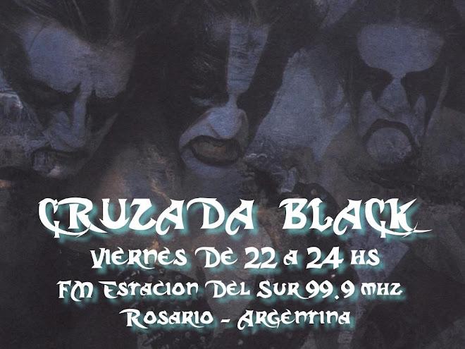 CRUZADA BLACK Programa Radial de Metal Extremo