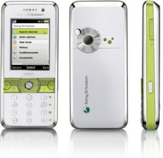 Sony Ericsson K660i stylish phone with 3G
