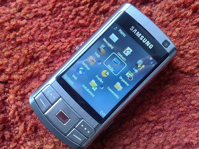 Samsung G810 latest smart camera phone