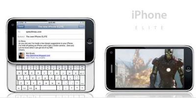 i-Phone ELITE  has slider full QWERTY keypad