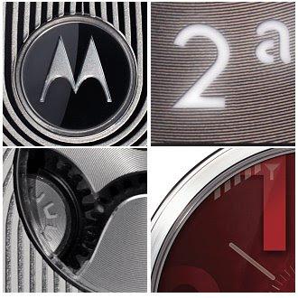 Motorola Aura- circle display used stainless steel body
