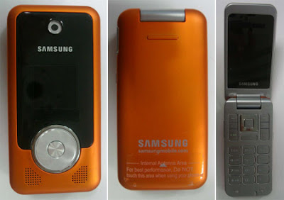 Samsung R470 new clamshell phone