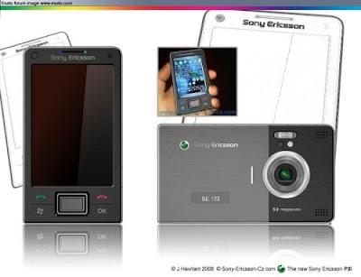 Sony Ericsson p3i concept phone pics