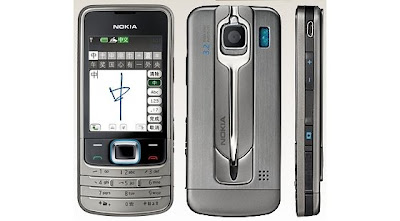 Nokia 6208c new stylish touch screen phone