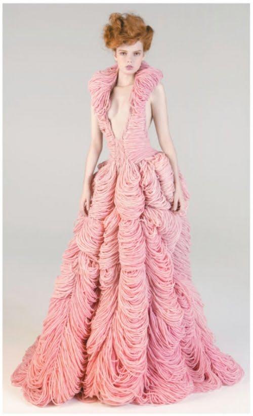 Knitting Patterns Dresses : Knitted Wedding Dress on Pinterest Wedding dresses, Crochet Wedding Dresses...