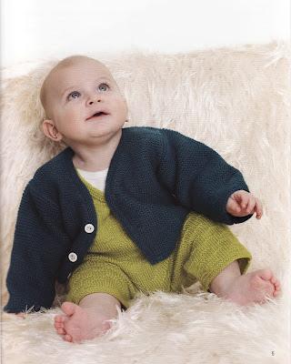 Bebek Örgü Hırka ve Tulum