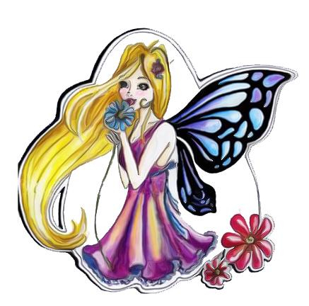 Fairy Tattoo Flash