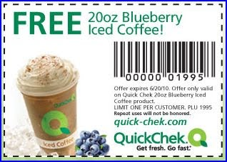 Free 20 oz Blueberry Iced Coffee At Quick Chek – Facebook