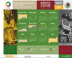 CALENDARIO ESCOLAR 2010 - 2011