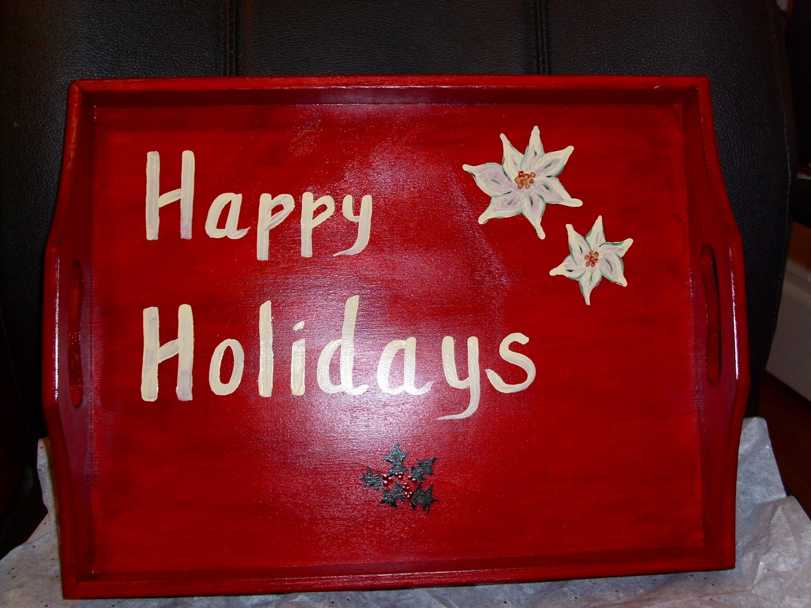 [Handpainted+Happy+Holidays+tray]