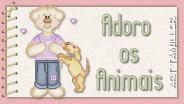 Adoro os animais
