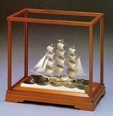 純銀 伝統工芸 帆船
