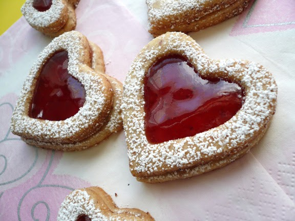 My Kitchen Snippets: Linzer Heart Cookies