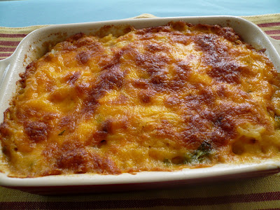 My Kitchen Snippets: Cheesy Baked Rice