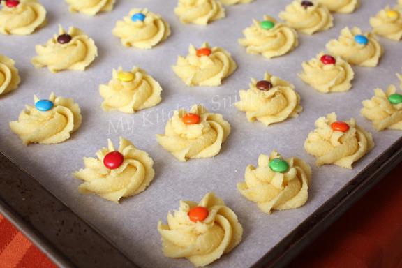 My Kitchen Snippets: Lemon Polenta Cookies