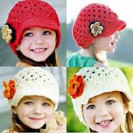 SWEET CROCHET- HR 083 -AGE 2YR -  RED , CREAM, BURGUNDY