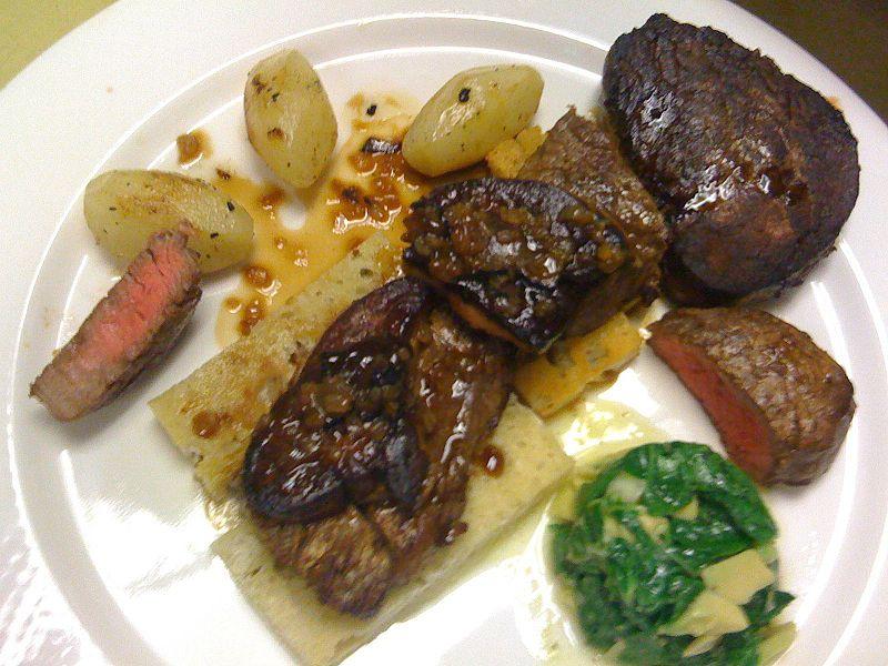 Baffetto blog filet de boeuf rossini filet mignon rossini - Cuisiner tournedos de boeuf ...