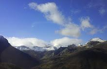 La belleza de las montañas