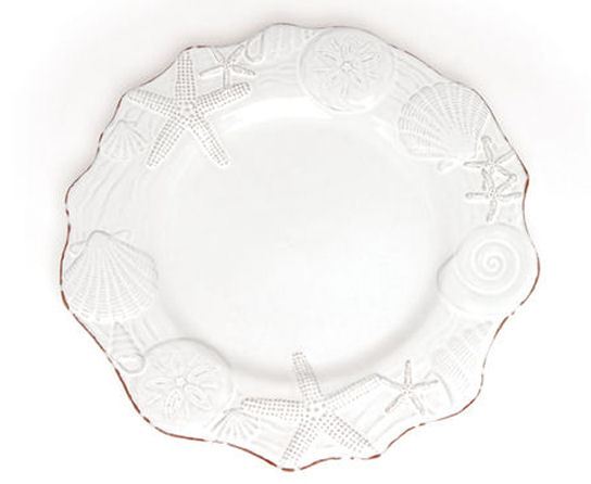 These are my favorite plates in the world.... I love love love them! Part of the Sanibel collection by Mud Pie the plates have so many coordinating pieces ...  sc 1 st  Beach Cottage Style - Blogger & Beach Cottage Style: Sanibel Plates by Mud Pie - Stunning Seashell ...