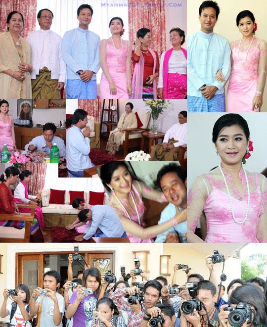 OPEN ZOSUAN: Pyay Ti Oo + Eaindra Kyawzin on wedding (hih thulu ...
