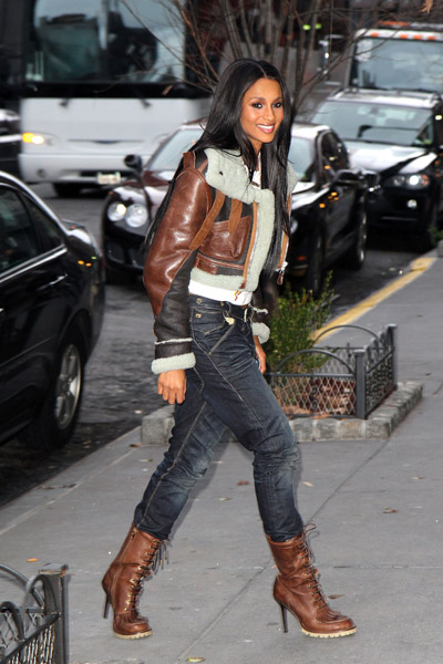 Look For Less Ciara Promoting Her New Album In New York