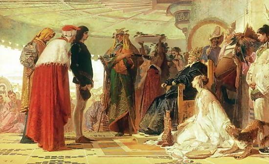 kublai khan and marco polo relationship with god