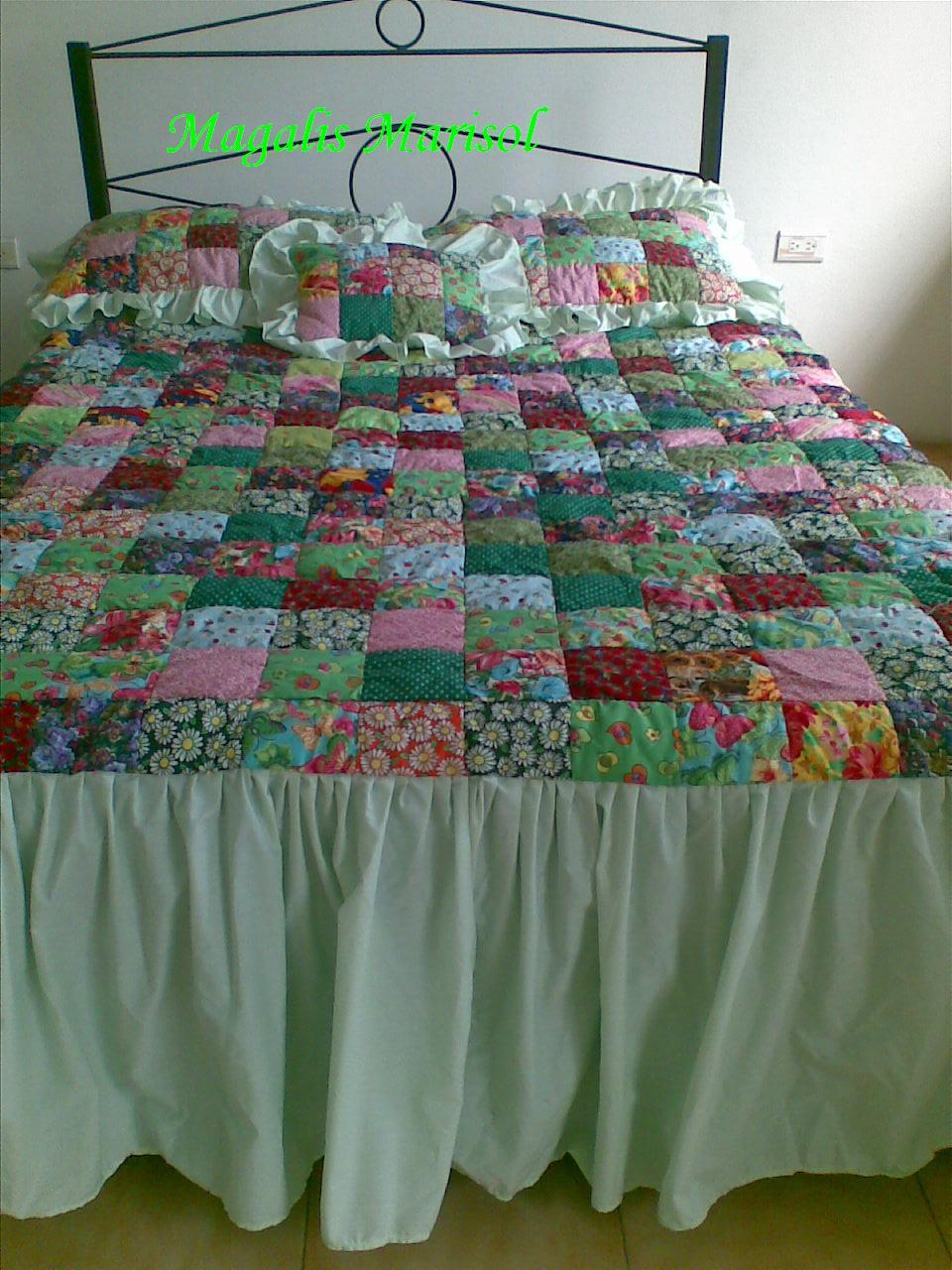 Edredones de patchwork y algo mas intercambio - Como hacer edredones ...