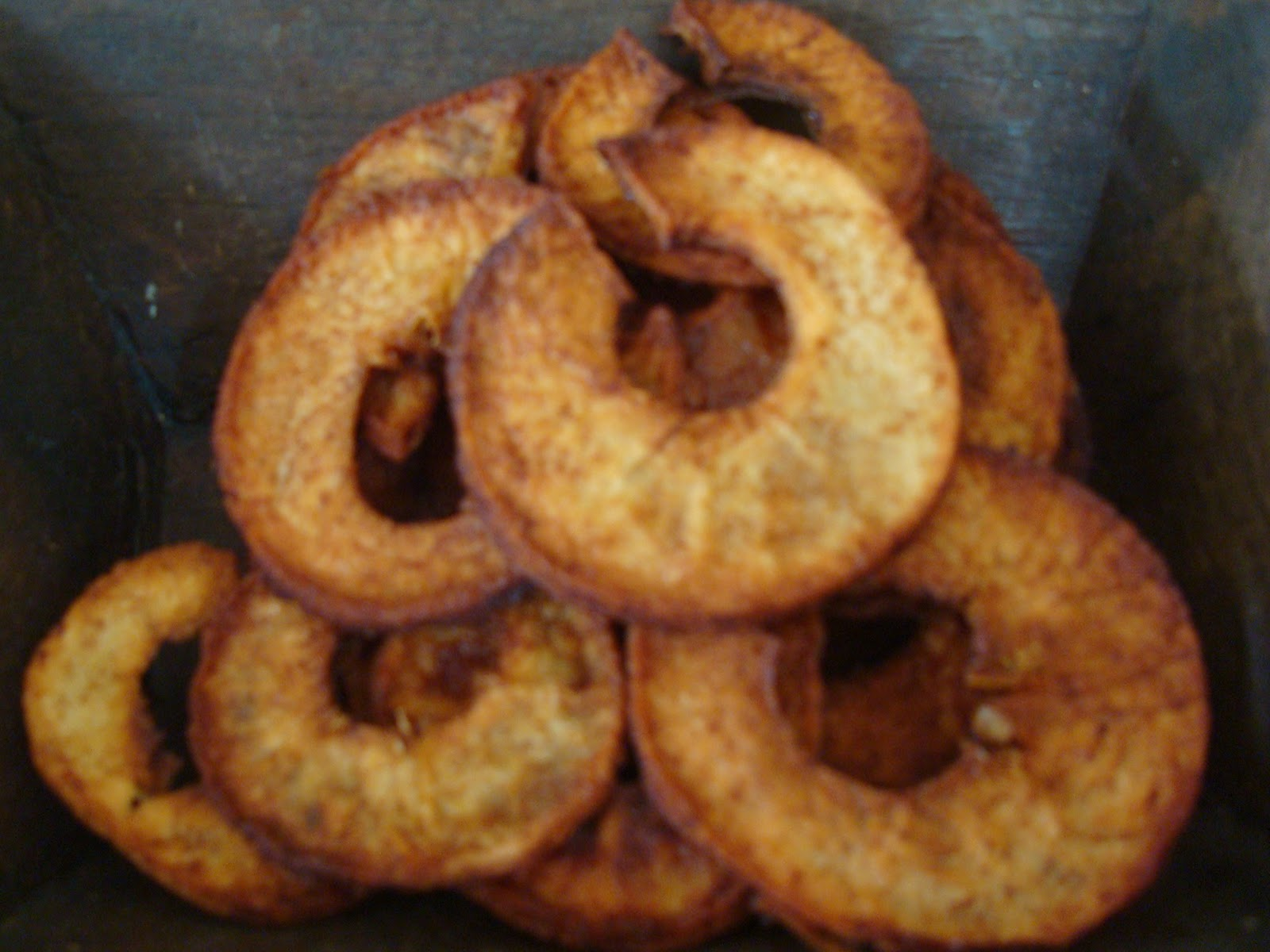 Crispy Apple Rings Recipe — Dishmaps