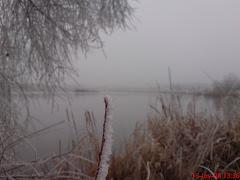 λίμνη Τυχερού,χειμώνας 2008