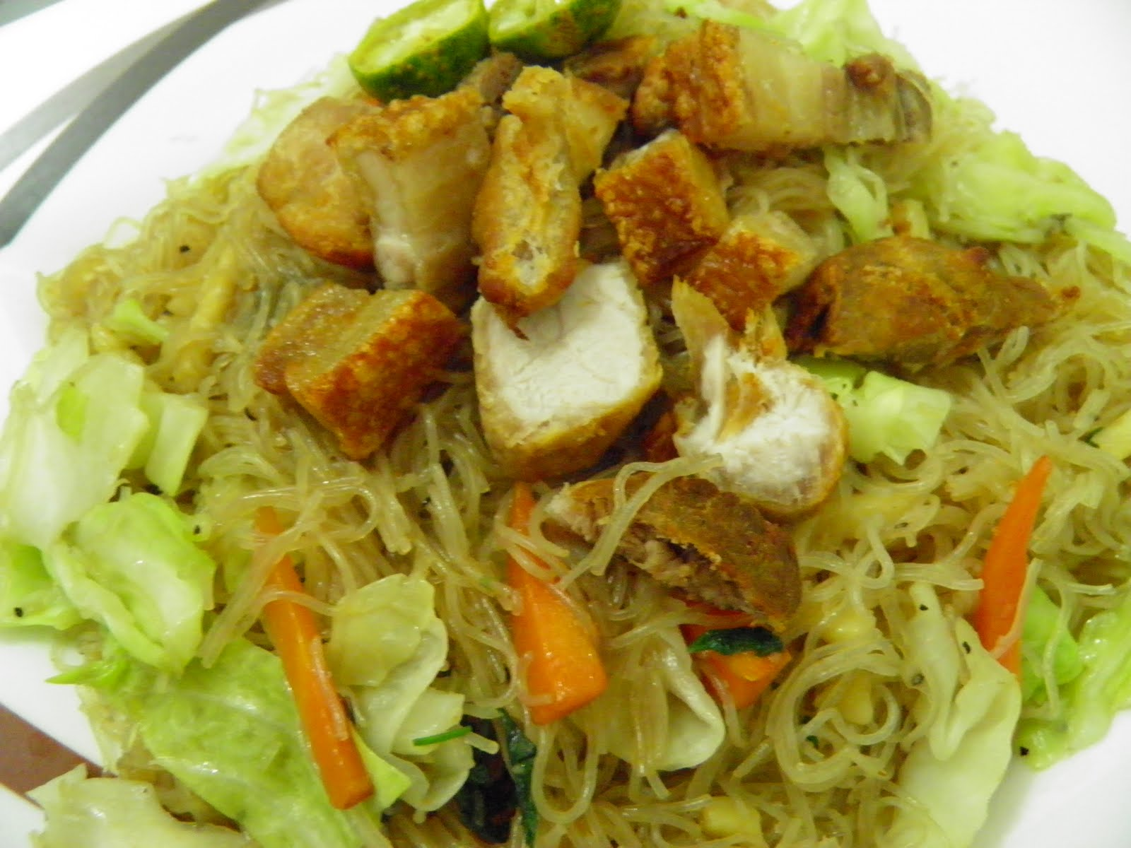 how to cook miki bihon