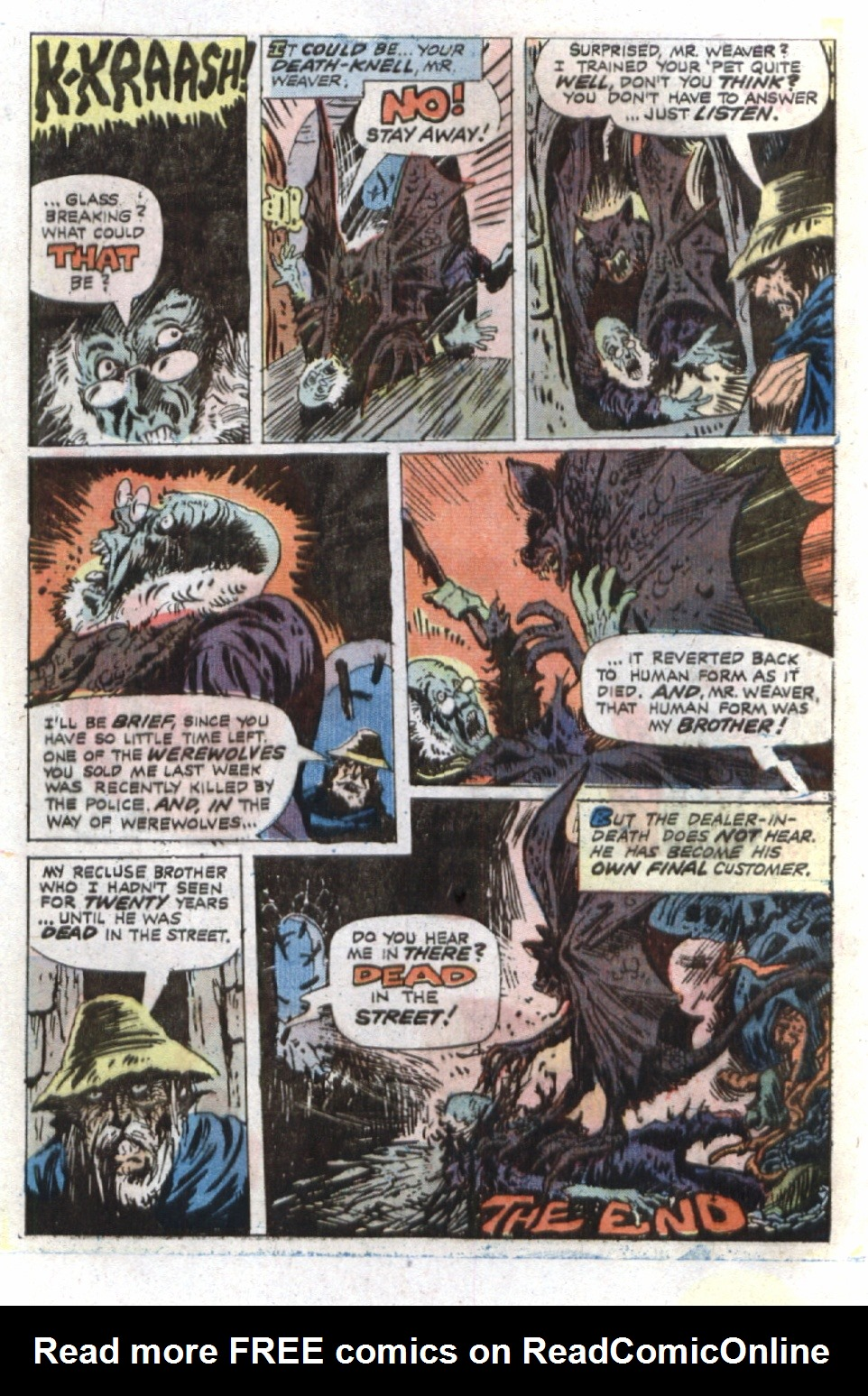 Read online Scary Tales comic -  Issue #36 - 32