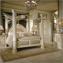 ���� ����� ���� ����� ����� AICO-Monte-Carlo-Poster-Canopy-Bedroom-Set-in-Silver-Snow~img~ICO~ICO1280_m.jpg