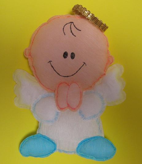 Como hacer angelitos de foami - Imagui