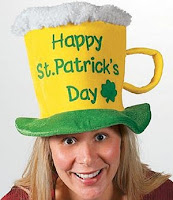 St. Pat's Beer Hat