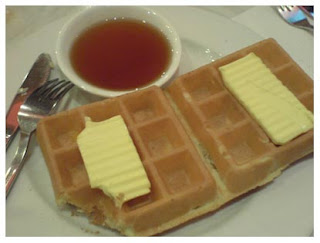 NOT Belgian waffle
