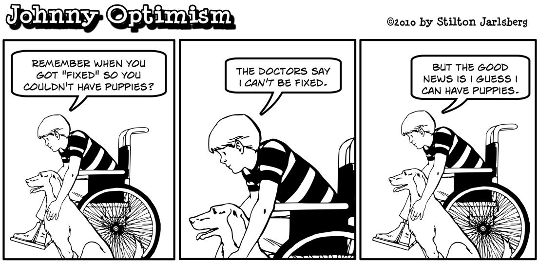 Johnny Optimism, JohnnyOptimism