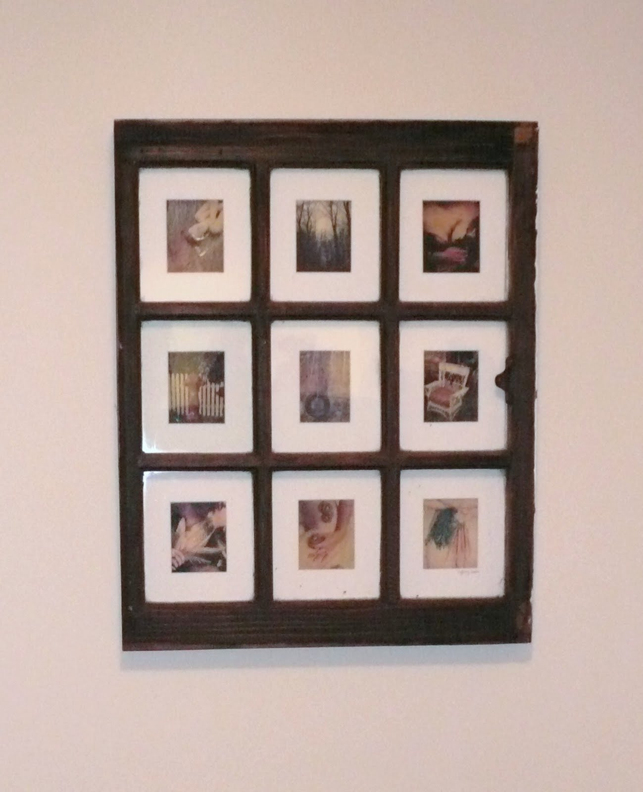 take nothing but polaroids: DIY plaroid frames