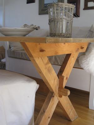 Veronica's hus: nytt spisebord