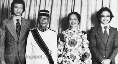 Tun Ismail family