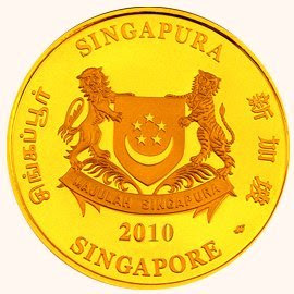 Singapore mint 2010 tiger series | lunaticg banknote & coin