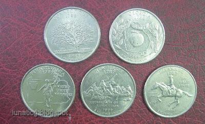 1999 quarter dollars