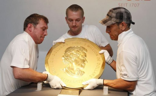 World S Biggest Gold Coin Lunaticg Coin