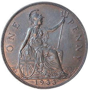 1933 penny
