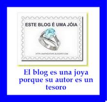 Premio : Este blog es una joya