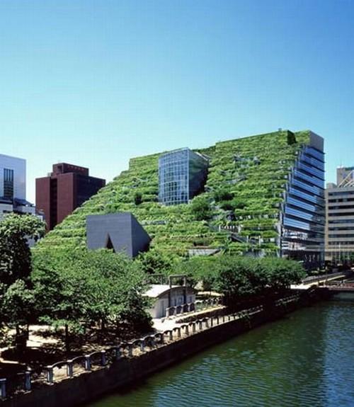 Fukuoka Japan  city images : Green Life: Green Building ACROS Fukuoka アクロス福岡