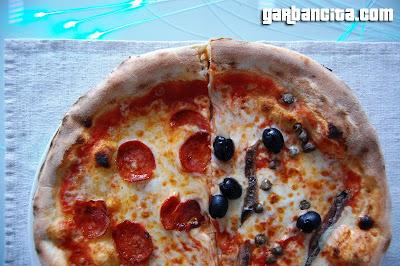 Pizzas Diavola y Siciliana