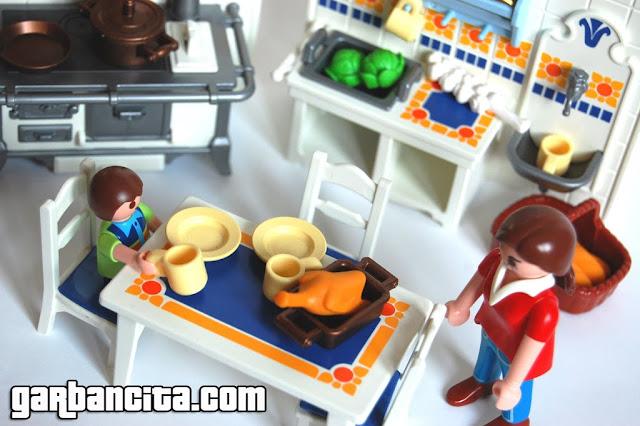 Cocina rústica de Playmobil