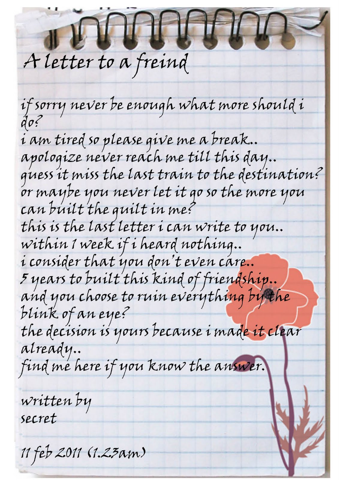 Letter to a friend stating memorable homework service letter to a friend stating memorable send this kind of polite letter to your friend who spiritdancerdesigns Gallery