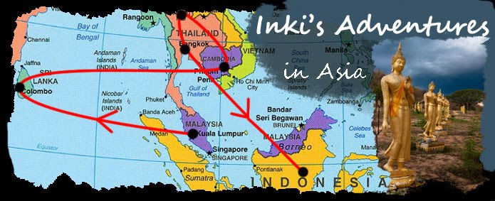 Inki's Adventures in Asia