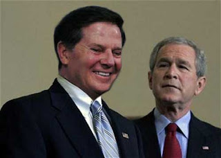 Casting the approving eye on Tom DeLay